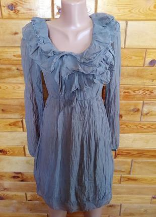 Приятное летнее платье подкладка вискоза трикотаж верх лёгкий, похож на шелк рукавчик без подкладки