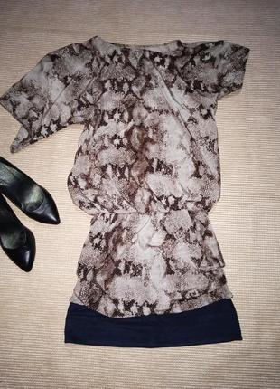 Плаття сукня анімалістичний стиль