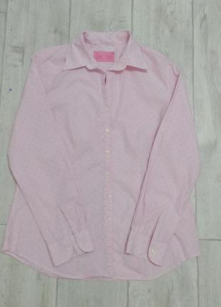 Очень/актуальная/нежно/ розовая/рубашка/m🛍️
