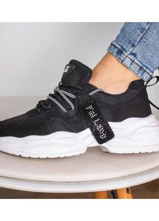 Натур.замша + сетка. кроссовки,чёрные кроссовки,кроссовки сетка,кроссовки кожа,кроссовки замша