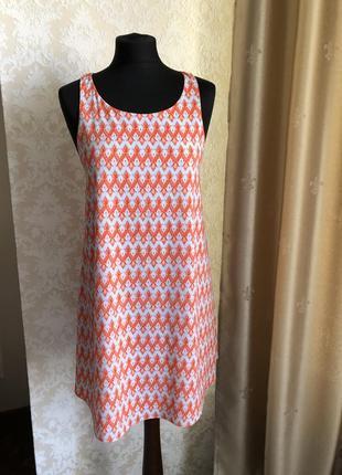 Летнее платье дизайнера из нью йорка alice+olivia