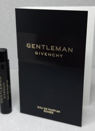 Givenchy gentleman boisee парфюмированная вода объем 1мл