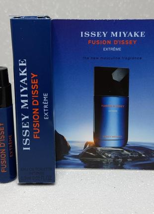 Issey miyake fusion issey extreme  туалетная вода