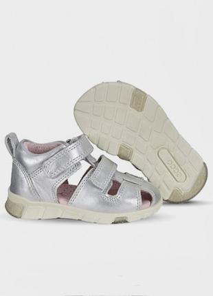 Босоножки сандалии для девочки ecco mini stride