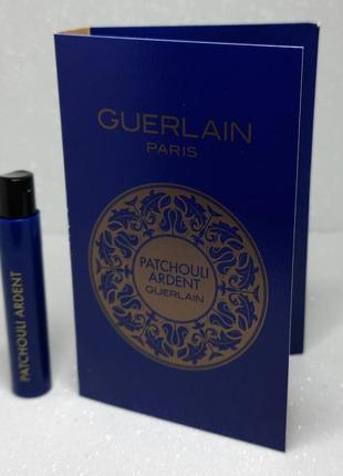 Guerlain patchouli ardent парфюмированная вода