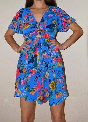 Шифоновое платье, очень лёгкое и классное🌺