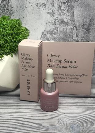 Укрепляющая сыворотка для макияжа laneige glowy makeup serum