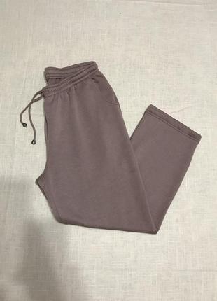 Качественные брюки прямого кроя на кулиске
