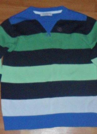Свитер на мальчика m&s на 5-6 лет р.116