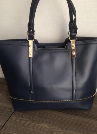 Объемная сумка шоппер