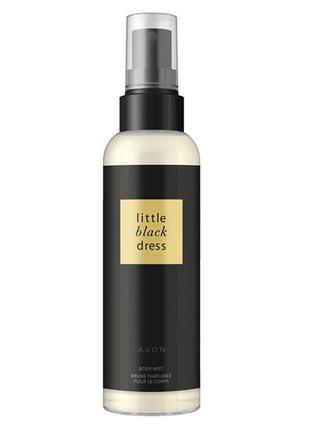 Розпродаж!!! парфумований спрей для тіла little black dress (100 мл)