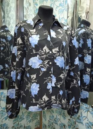 Стильна шовкова блуза