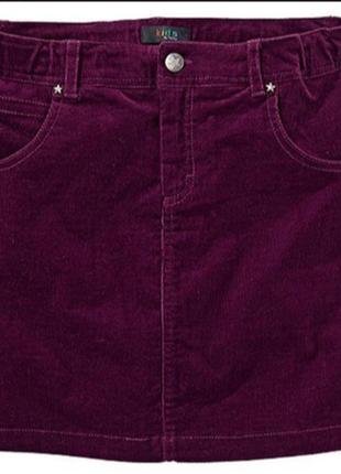 Вельветовая юбка stradivarius