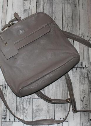 Кожаный рюкзак rowallan ручная работа