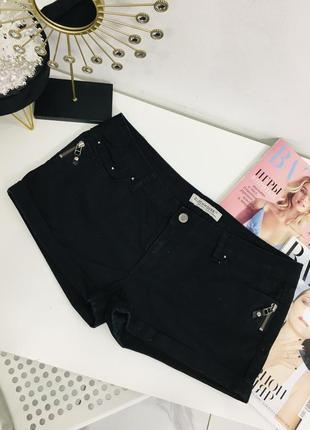 Стильные джинсовые шорты с молниями от clockhouse
