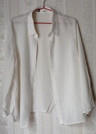 Шелковая блуза sem per lei