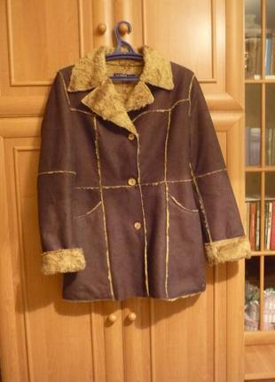 Пальто gas стильное универсальное текстиль