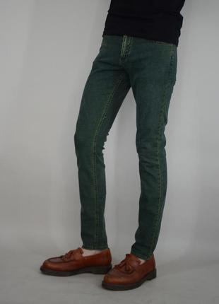 Классические зауженные джинсы штаны cheap monday jeans denim брюки