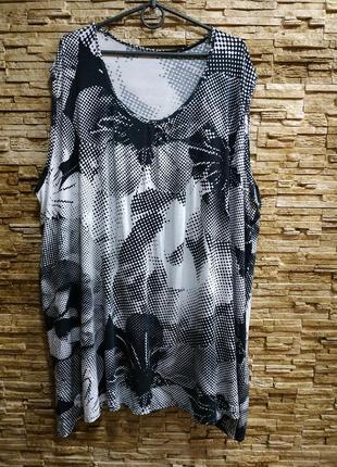 Длинная свободная футболка, туника.супер батал!!! 32-38 евро размер