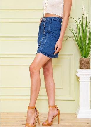 Стильная летняя женская джинсовая юбка