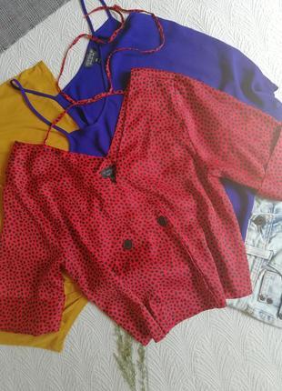 Блуза укороченная блуза топ