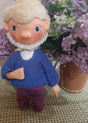 Редкая винтажная кукла гдр goebel sandman