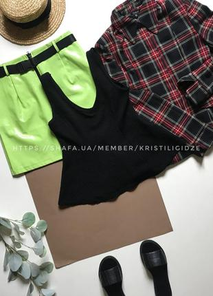 Фактурная блуза с баской р.12/l. распродажа