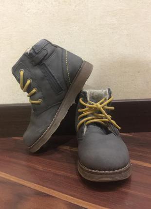 Зимние ботинки garvalin