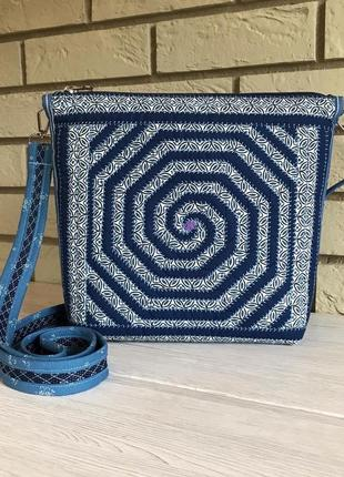 Новая сумочка «водоворот»