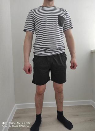 Мужская хлопковая пижама