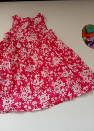 Платье сарафан 104-110см3 фото