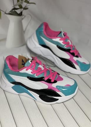 Кроссовки для девочек тм american club