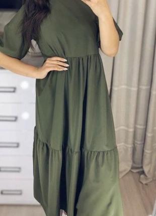 Платье легкое софт