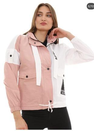 Ветровка коттон 🍒женская куртка джинсовка 🇹🇷