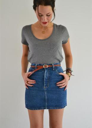 Джинсовая юбка denim co. размер м