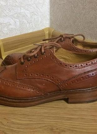Классические мужские туфли броги john white. англия. новые. оригинал