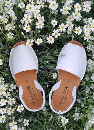 35-41 испанские кожаные босоножки сандали