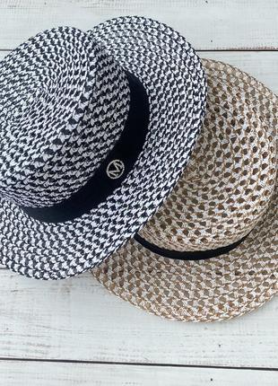 Шляпа канотье шляпа на пляж