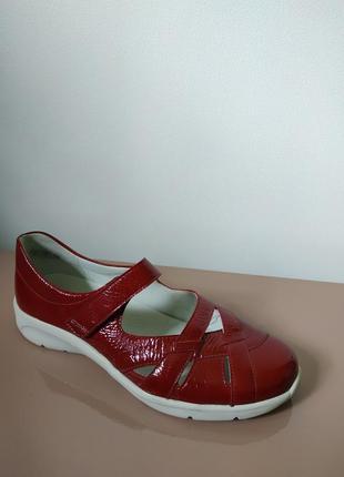 Кожаные спортивные туфли, мокасины