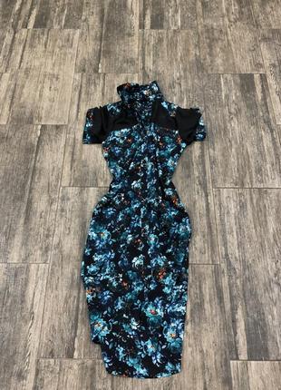 Платье -рубашка ( перед чуть короче )