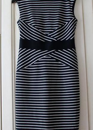 Платье в полоску marks&spencer