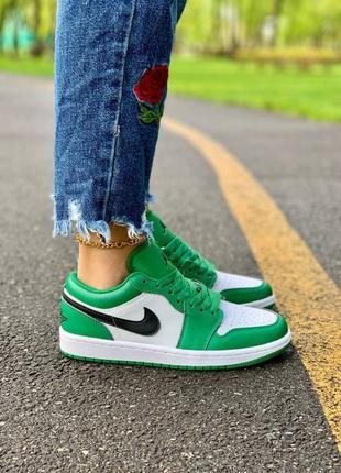 Nike air jordan low 'pine green' кроссовки найк аир джордан наложенный платёж купить