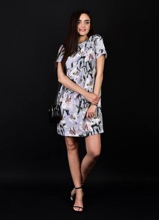 Платье вечернее супер нежное в цветочек ,квітонька женское 44-52