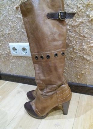 Кожаные сапоги поргугалия