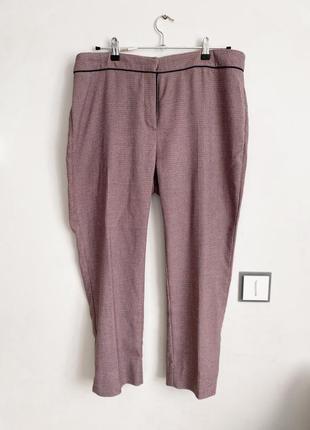 Стильные брюки пудровые