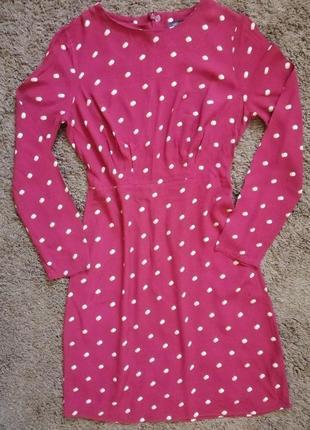 Бордовое платье мини m&s