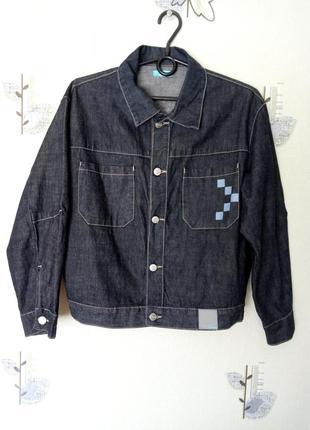 Трендовая джинсовая куртка soneti