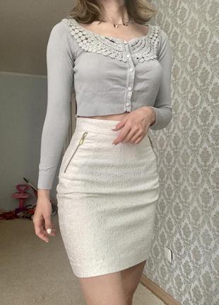 Красивая юбка кружево