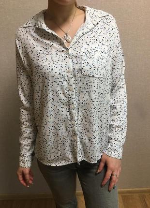 Цветастая блуза-рубашка reserved