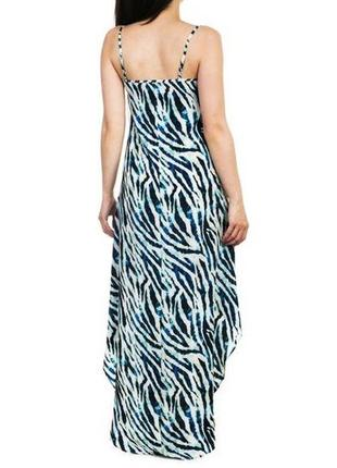 Лёгкое асимметричное платье/сарафан.